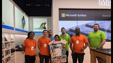 Thank you Microsoft for supporting our school!